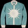 Levi's Vintage Clothing - Starburst Bomber Jacket in Dark Mint