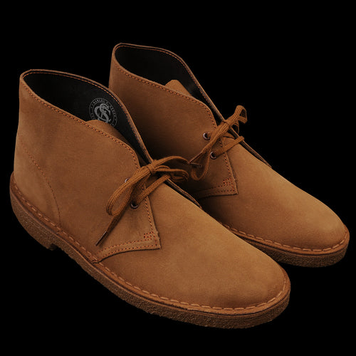 Desert Boot in Cola Suede