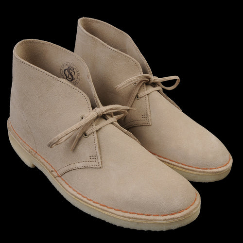 Desert Boot in Sand Suede