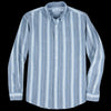 Schnayderman's - Shirt Oxford Indigo Stripe in Blue & White