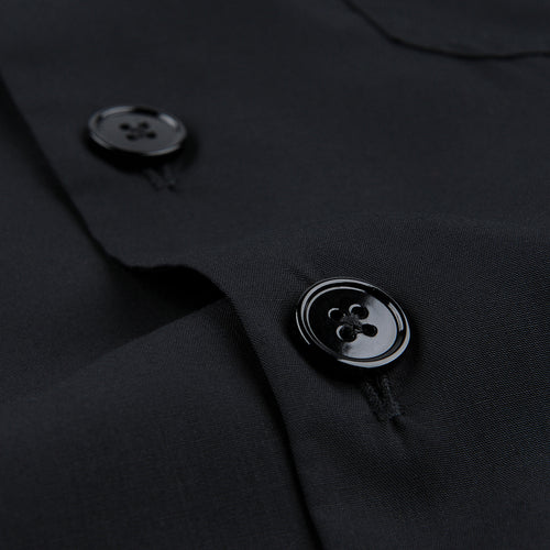 Shirt Notch Tencel in Black