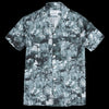Schnayderman's - Shirt Notch Forest Print Short Sleeve in Green & White