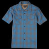 Pendleton - Short Sleeve Board Shirt in Blue Grey Shadow Plaid