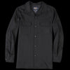 Pendleton - Fitted Board Shirt in Black Flannel