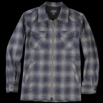 Pendleton - Brightwood Zip Jacket in Oxford Mix Ombre