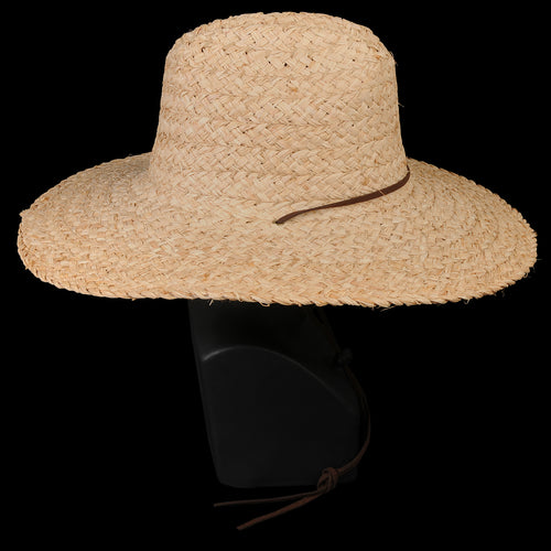 Lifeguard Raffia Hat in Natural