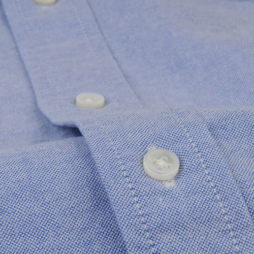 Overdyed Oxford Shirt in Blue