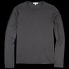 Alex Mill - Standard Longsleeve Slub Cotton Tee in Black