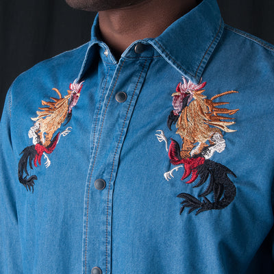 A Kind of Guise - Kikeriki Shirt in Denim