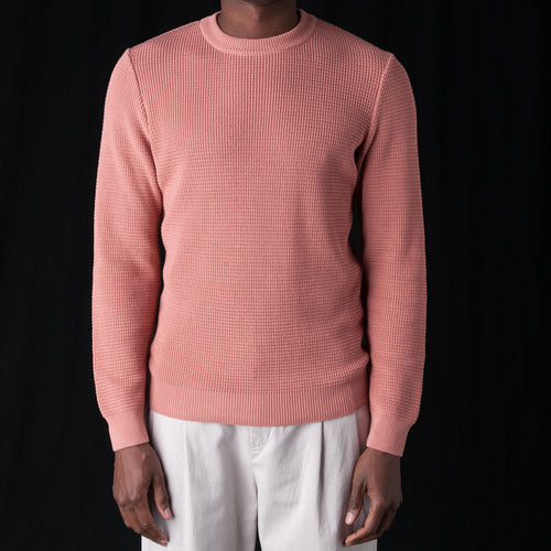 Waru Crewneck in Rose