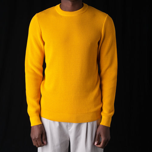Waru Crewneck in Yellow