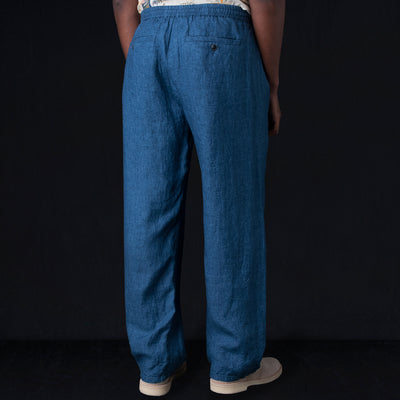 edb2ae760c9 A Kind of Guise - Samurai Trouser in Indigo - UNIONMADE
