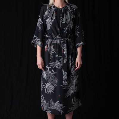 A Kind of Guise - Indara Dress in Black Rooster