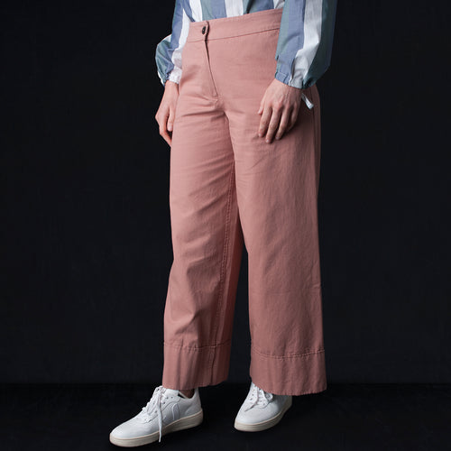 Seram Trouser in Washed Rose
