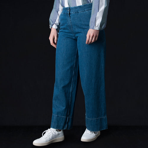 Seram Trouser in Denim