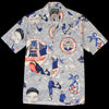Gitman Vintage - Camp Shirt in Lost at Sea