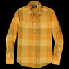 Gitman Vintage - Key Collar Shirt in Yellow Check
