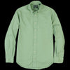 Gitman Vintage - Button Down Shirt in Green Spring Oxford