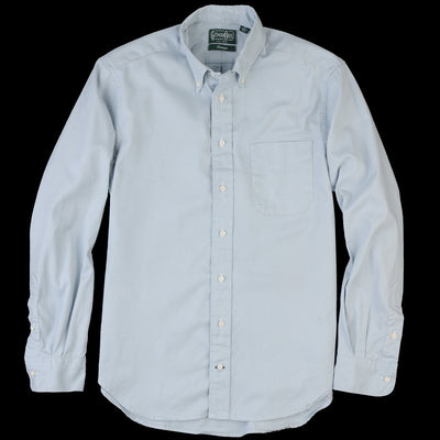 Gitman Vintage - Button Down Shirt in Blue Spring Oxford