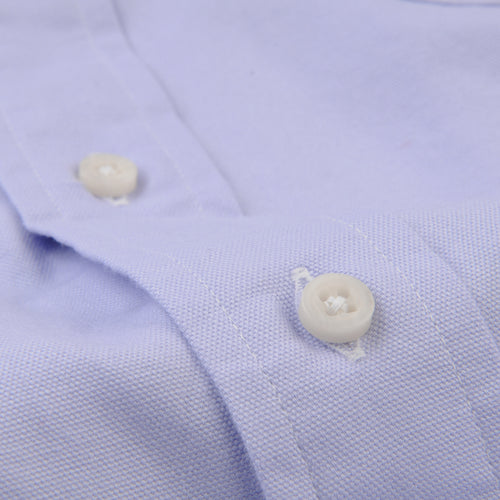 Button Down Shirt in Lavendar Spring Oxford
