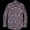 Gitman Vintage - Key Collar Shirt in Navy Floral