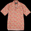 Gitman Vintage - Camp Shirt in Orange Garden Floral