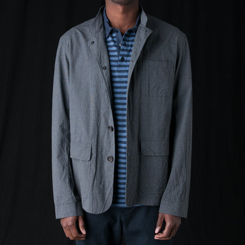 Coram Jacket in Ruben Charcoal