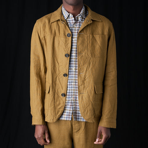 Cowboy Jacket in Evering Ochre