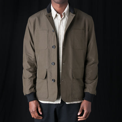 Oliver Spencer - Berwick Jacket in Rainer Green