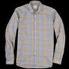 Oliver Spencer - Clerkenwell Tab Shirt in Palin Multi