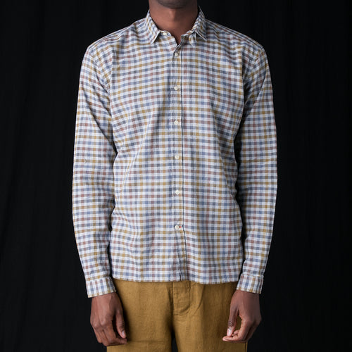 Clerkenwell Tab Shirt in Palin Multi