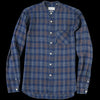 Oliver Spencer - Grandad Shirt in Fairhurst Indigo