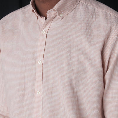 Oliver Spencer - Aston Shirt in Kersley Pink