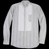 Oliver Spencer - Bib Grandad Shirt in Harnett Grey