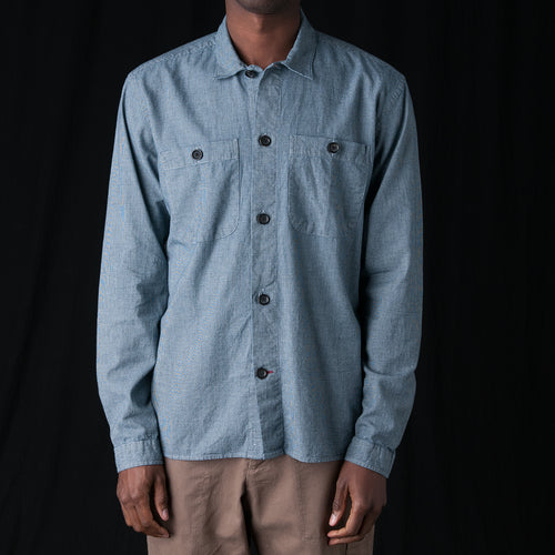 Eltham Shirt in Olson Indigo