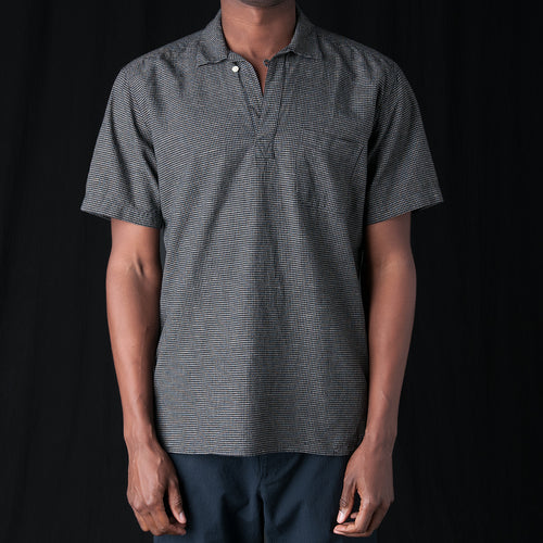 Yarmouth Shirt in Kersley Black