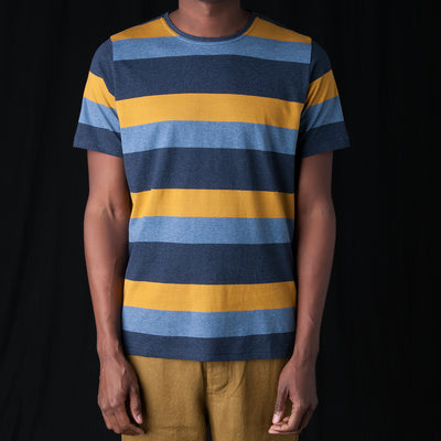 Oliver Spencer - Conduit Tee in Sala Navy Multi