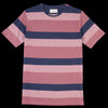 Oliver Spencer - Conduit Tee in Sala Raspberry Multi