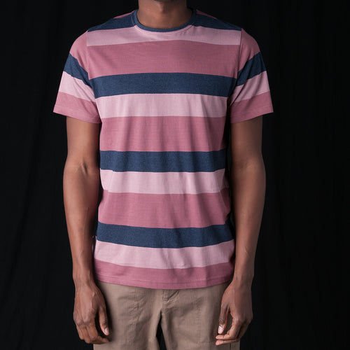 Conduit Tee in Sala Raspberry Multi