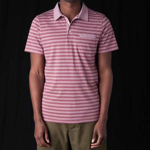 Dunmore Polo in Capri Raspberry & Pink