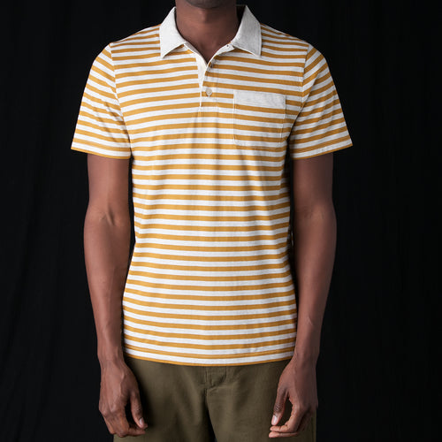 Dunmore Polo in Capri Yellow