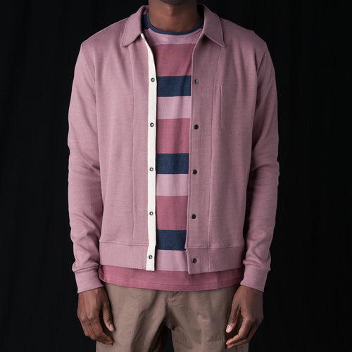 Rundell Jersey Jacket in Parker Pink
