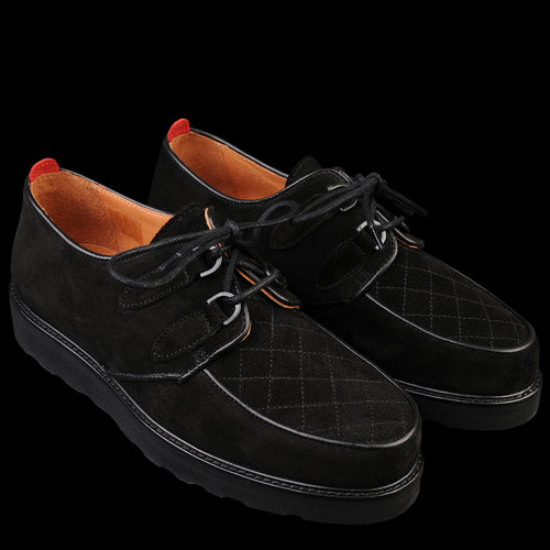 Brothel Creeper in Suede Black