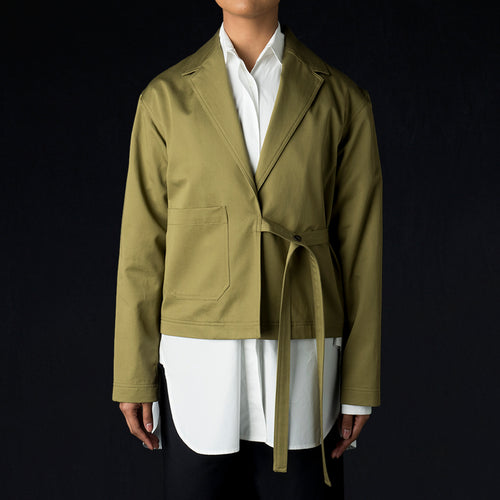 Cotton Twill Keaton Jacket in Loden