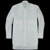 Deveaux - Poplin Max Shirt in White