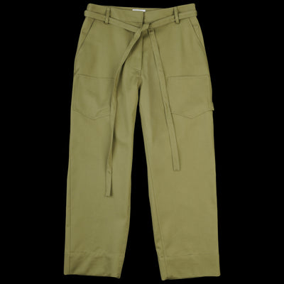 Deveaux - Cotton Twill Work Pant in Loden