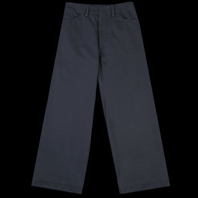 Deveaux - Cotton Twill Elliott Pant in Navy