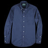 Gitman Vintage - Button Down Shirt in Navy Washer Cloth