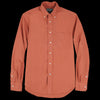 Gitman Vintage - Button Down Shirt in Brick Washer Cloth