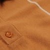 Far Afield - Alfaro S/S Polo in Cashew & Biscotti